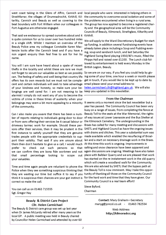 KCC Newslette2r