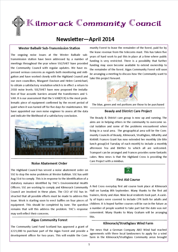KCC Newsletter2014